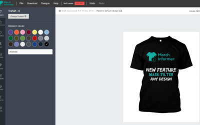 UPDATE -Add Filters Inside of the Merch Informer Products Designer