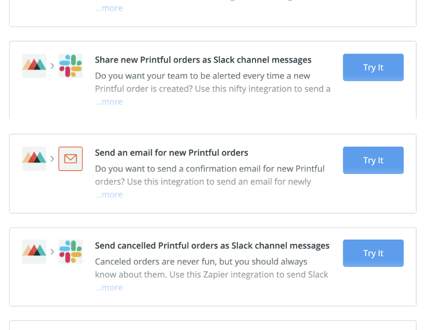 How to Use Zapier and Printful to Automate Your Ecommerce Business